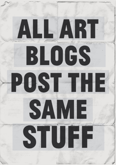 Art Blogs Post